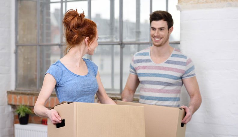 The challenges and rewards of moving in with your partner